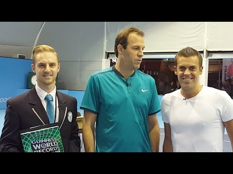 Breaking World Records: Tennis with Greg Rusedski