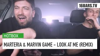 Marteria & Marvin Game - Look At Me | Hotbox Remix | 16BARS.TV