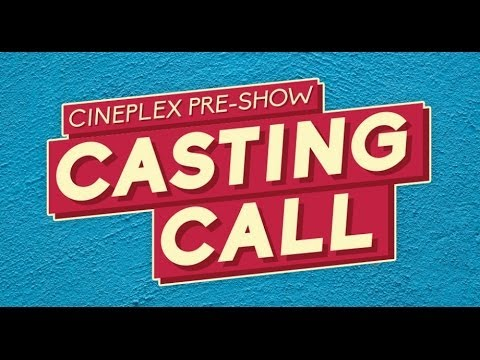 Cineplex Pre-Show Host Audition Bloopers