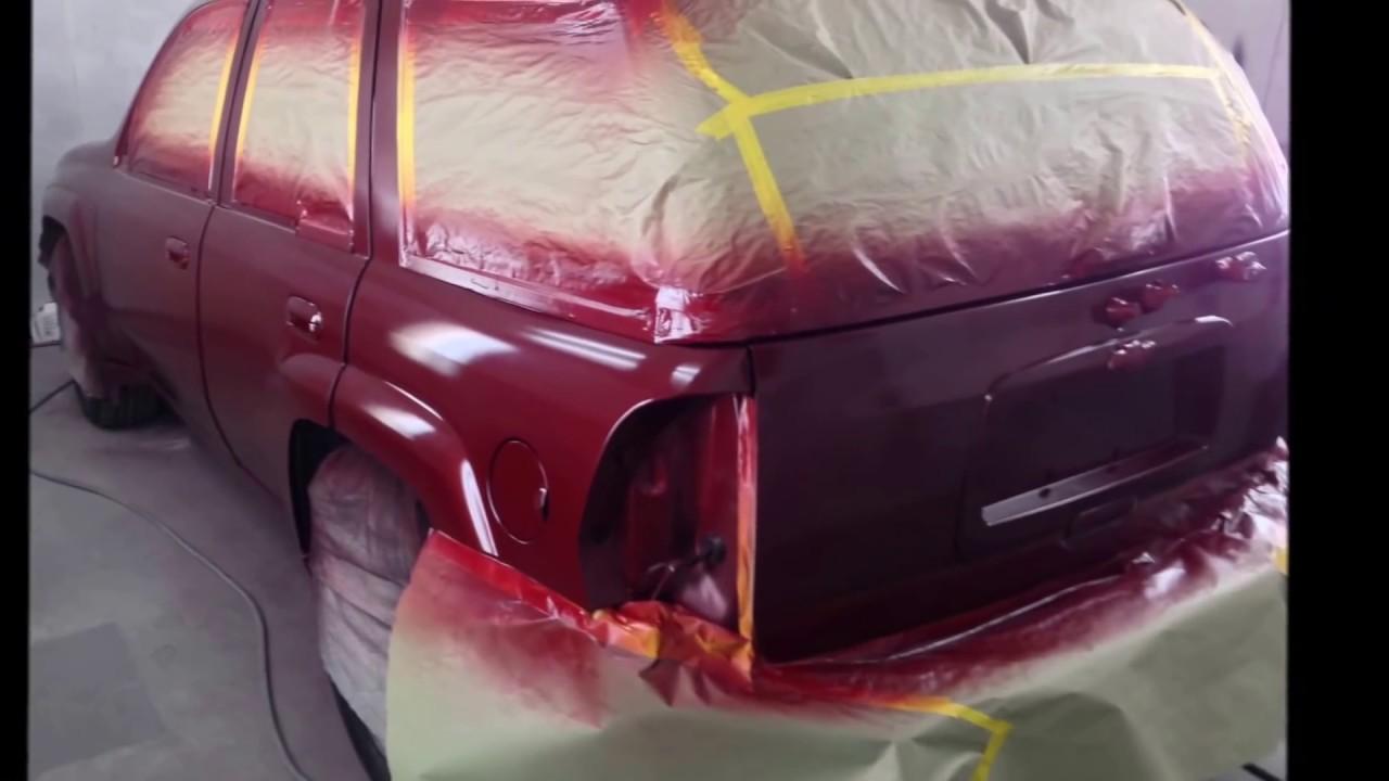 Trailblazer Ss Factory Paint Job Sprayedbyb