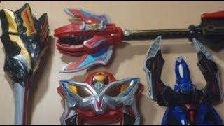 ウルトラマンジード 劇場公開記念 ジード玩具 大集合! Ultraman Geed Toy Colection
