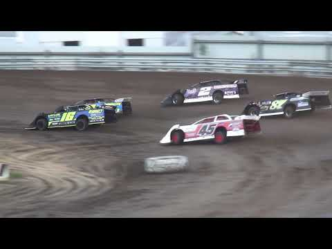 IMCA Late Model Heat 2 Independence Motor Speedway 6/29/19