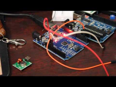 Arduino Radio Reciever Example Code 433mhz 315mhz - YouTube