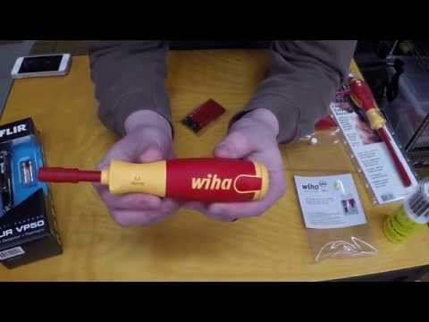 Tool Purchases and Review - Wiha Screwdrivers, Flir Non-Contact Voltage Detector, Klein Backpack