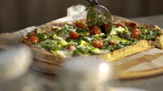 Вегетарианская пицца без муки — здоровый фастфуд от Марики Кравцовой