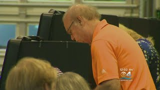 Dade Voters Turn Out For Primary Election Day