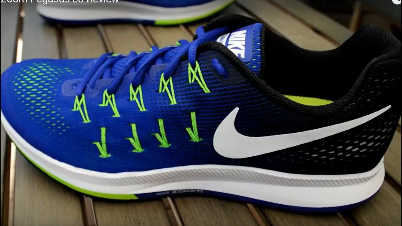 5d9a67f6082 Nike Air Zoom Pegasus 33 Review - YouTube