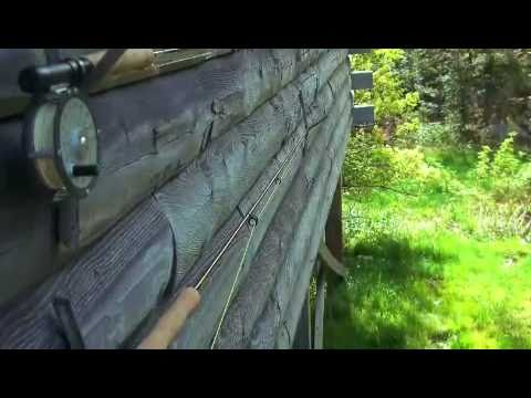 Fly fishing tim pond maine youtube for Koi pond maine coon cattery