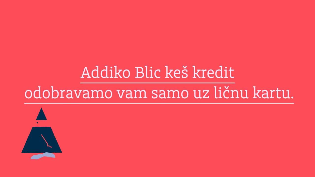 Addiko Blic Kes Kredit 2 Youtube