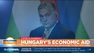 PM Viktor Orban announces €5.5 billion package to deal with crisis