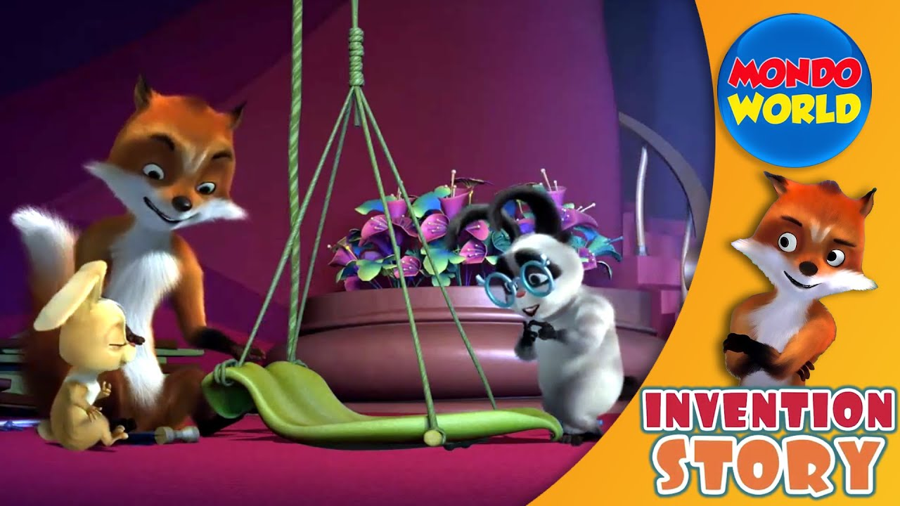 INVENTION STORY (Ep. 12 - Elevator) 🦊 3D Cartoon series in English 🦊 Science for kids