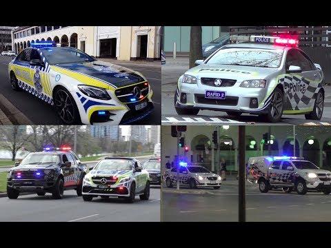 ACT, NSW & VIC Police (Australia) Responding Compilation
