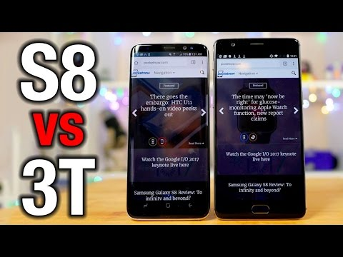 Samsung Galaxy S8 vs OnePlus 3T: How much more phone do you get?