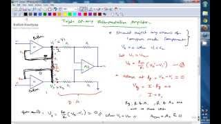 Instrumentation Amplifier ( A Conceptual Lecture) -  Limitaitons of Differential Amplifier