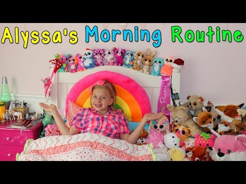 Alyssa&39;s Morning Routine - Family Fun Pack