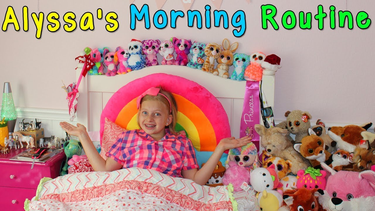 Alyssa S Morning Routine Family Fun Pack Youtube