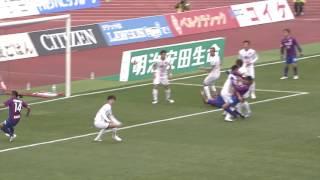 2017年3月18日(土)に行われた明治安田生命J1リーグ 第4節 甲府vs大...