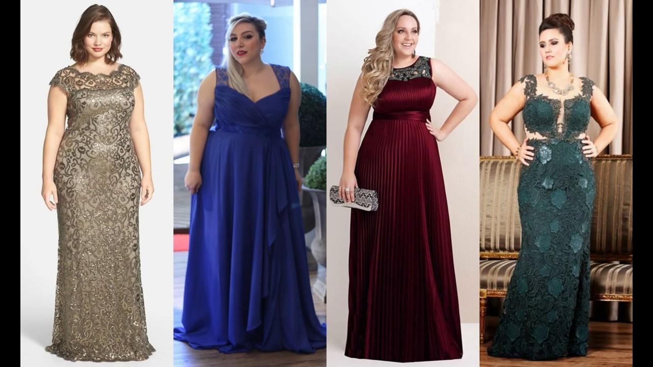 af1c02a9b 5 Modelos de Vestidos Para Festas Plus Size Para Arrasar! - YouTube