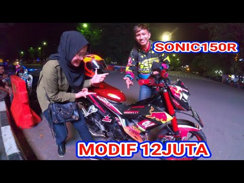 REVIEW SONIC 150R MODIFIKASI