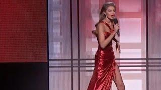 Gigi Hadid criticized for Melania Trump impersonation