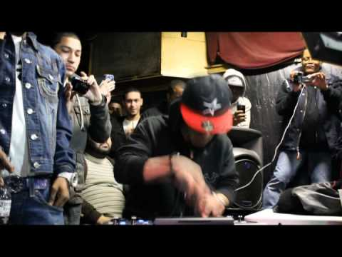 Araabmuzik's 1st MPC Battle vs 8th Wundah