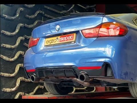 BMW 4.18 KUMANDALI EGZOZ VE BODYKİT 🔥