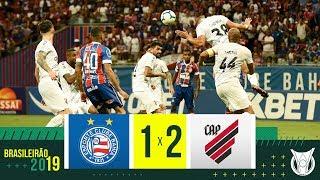 BAHIA 1 X 2 ATHLETICO PR - Melhores Momentos - Brasileirão 2019 (05/10/19)