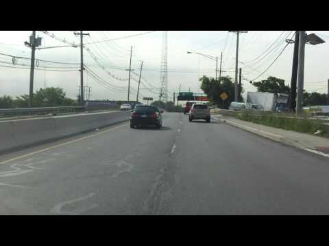 Paterson Plank Road (NJ 120) southbound
