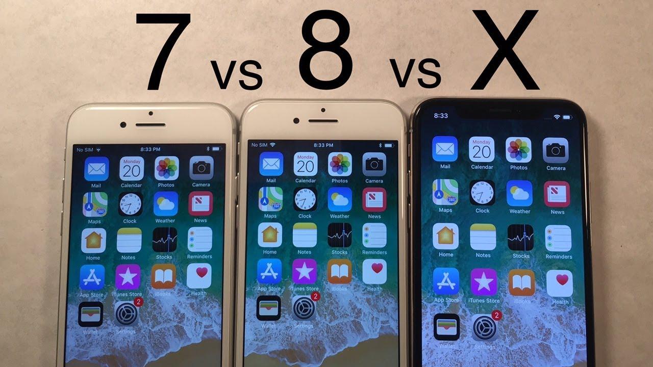 iphone 7 speed