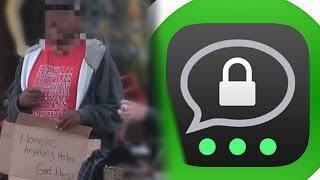 Fake Obdachloser kassiert ab! - Threema ersetzt WhatsApp -- Ghostbuster gestorben! - GoodToKnow