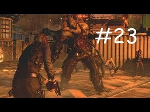 Resident Evil 6 Leon Helena Campaign Walkthrough Part 23