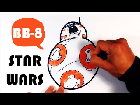 how to draw bb 8 from star wars the force awakens easy pictures to draw youtube. Black Bedroom Furniture Sets. Home Design Ideas