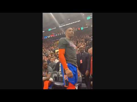 Deanna King - WATCH: Russell Westbrook Gets Into Heated Exchange With Fan
