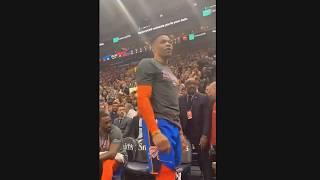 Russell Westbrook Threatens Fan  His Wife vs Utah Jazz In Heated Argument! 😡