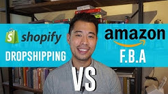 Shopify Dropshipping vs Amazon FBA - Which eCommerce Business Model Wins?