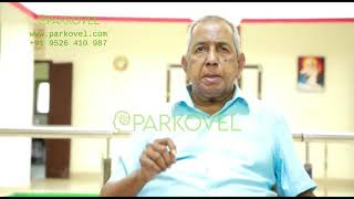 A priest explains his experience with Parkovel365, who was suffering from Parkinson's for years