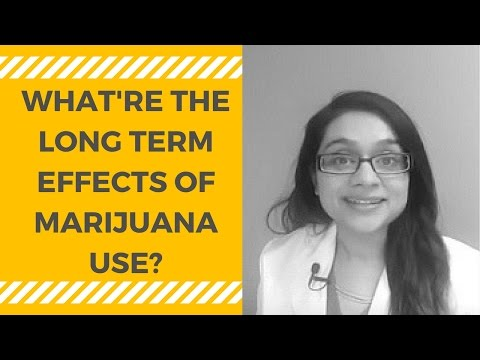 Legal Short And Long Term Effects Of Cannabis On The Body