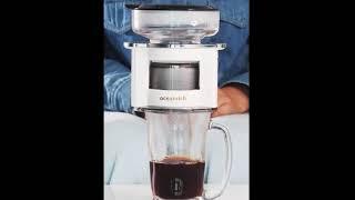 자동 커피 머신 핸드 회전 추출 포트 메이커 미니 대용…