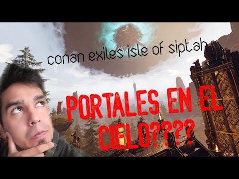 ⚔️CONAN EXILES ISLE OF SIPTAH⚔️E2 PORTALES??? WTF??? parte1/2 |