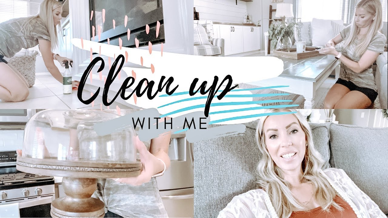 CLEAN WITH ME 2020 // Downstairs clean up