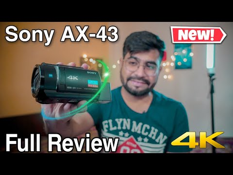 new-sony-fdr-ax43-|-best-travel-friendly-camcorder-|-full-review
