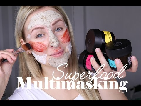 SUPERFOOOD MULTIMASKING! I samarbete med The Body Shop
