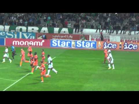 Raja vs Berkane  , لقطة الأسبوع، شاهد هدف بنحليب مباشرة من المدرجات و ردة فعل الجمهور