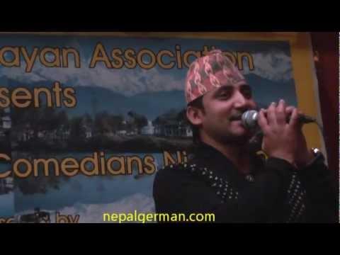 Ramchandra Kafle-(very popular songs ) hiuchuli ma gham lagyo ghamailo - Germany Part-7.