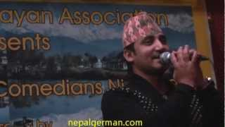 Ramchandra Kafle-(very popular songs ) hiuchuli ma gham lagyo ghamailo - Germany Part-7.