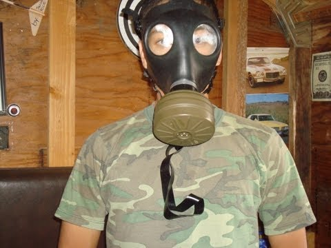 Israeli Civilian Gas Mask Review