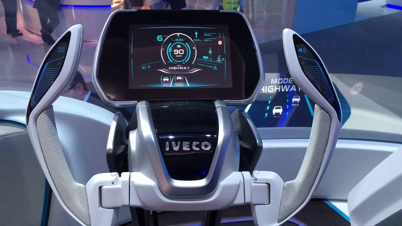 Iveco Lng Concept Truck Iaa2016 Youtube