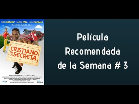 CRISTIANO DE LA SECRETA #4 PELÍCULA RECOMENDADA DE LA SEMANA