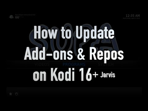 How to Update Add-ons & Repos on Kodi 16+ Jarvis (ALL DEVICES)