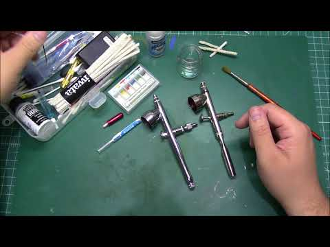Cleaning an airbrush. Use an ultrasonic cleaner?